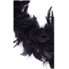 Chandelle Turkey Flat Boa Black Approx. 40 Grams